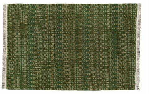 Rosemarie Trockel - Untitled (Made in Western Germany)