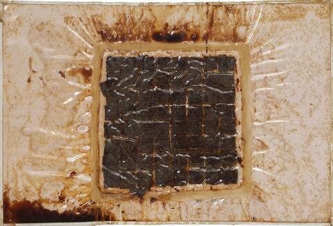 Dieter Roth - Schokoladenplätzchenbild (chocolate biscuit picture)