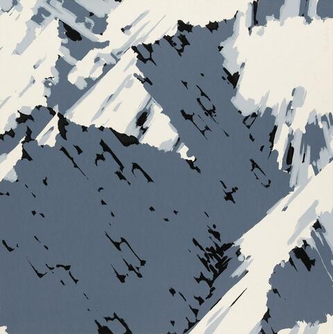 Gerhard Richter - Schweizer Alpen I (Motiv A1, A2, B1, B2, B3) (Swiss alps I (Motif A1, A2, B1, B2, B3))