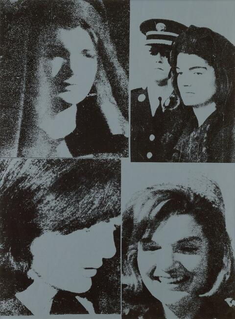 Andy Warhol - Jacqueline Kennedy III (Jackie III)