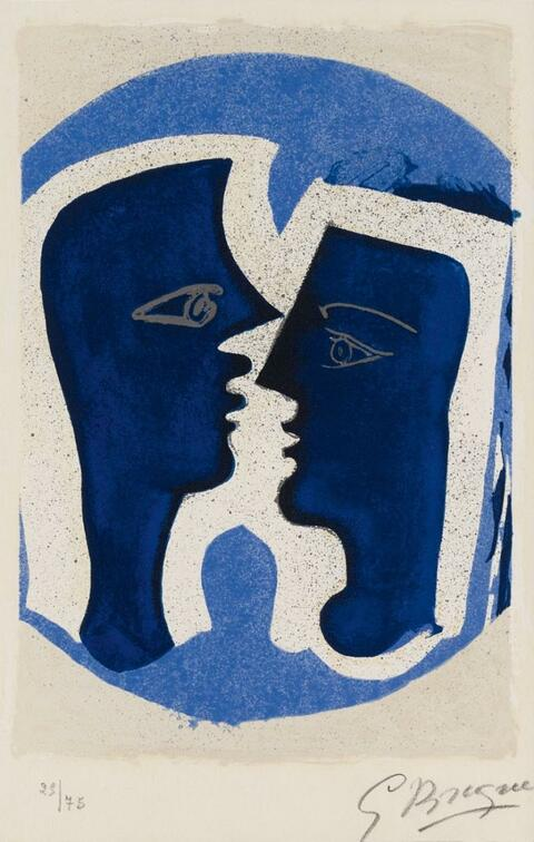 Georges Braque - Le Couple