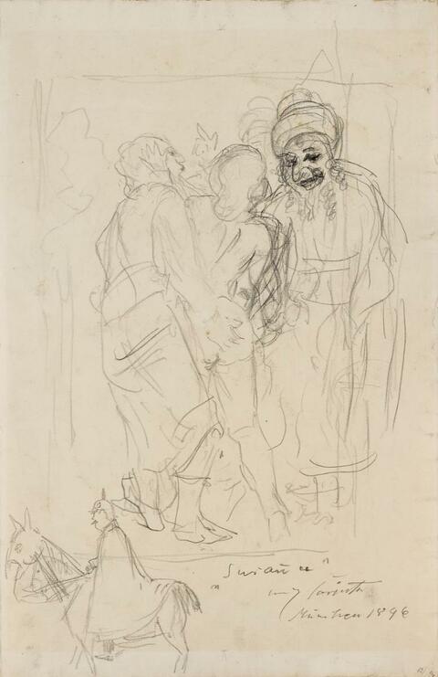 Lovis Corinth - Susanna und die beiden Alten