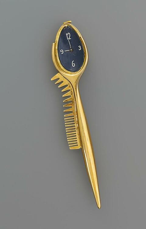 Salvador Dali Y Domenech - Cuillière avec montre-peigne