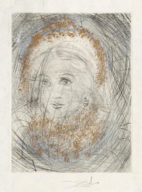 Salvador Dali Y Domenech - Portrait de Marguerite