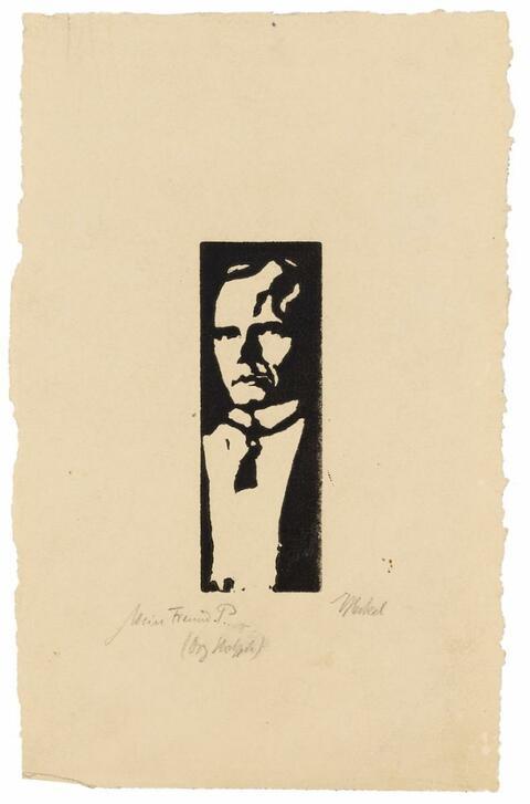 Erich Heckel - Mein Freund P.