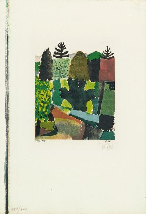 Nach Paul Klee - Park
