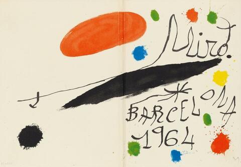 Joan Miró - Joan Brossa u.a. Miró. Obra inèdita recent
