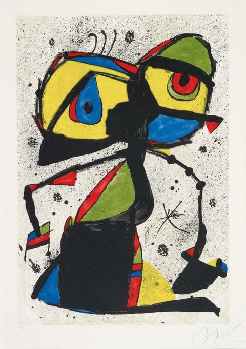Joan Miró - L'Abella Somniadora