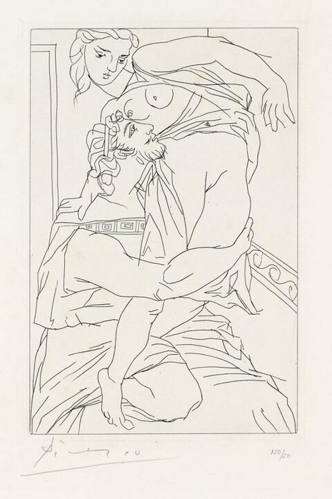 Pablo Picasso - Cinesias et Myrrhine