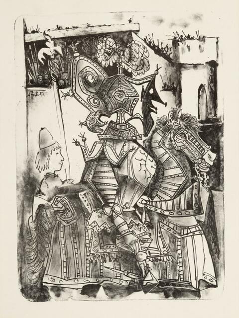 Pablo Picasso - Le Chevalier et le Page