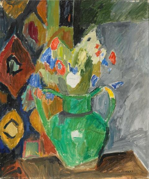 Hans Purrmann - Blumenstilleben (Bouquet of Flowers)
