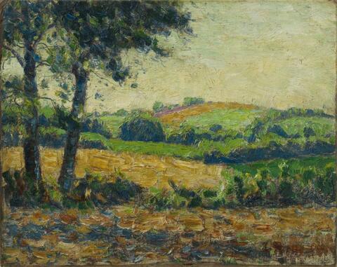 Christian Rohlfs - Thüringische Landschaft (Thuringian Landscape)