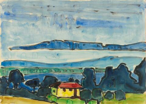 Karl Schmidt-Rottluff - Blaue Bucht