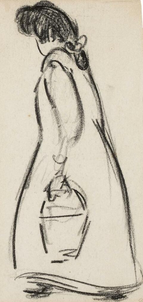 Heinrich Zille - Frauenskizzen