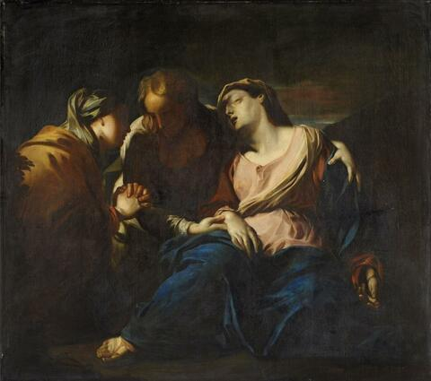 Italienischer Meister des späten 17. Jahrhunderts - DIE DREI MARIEN