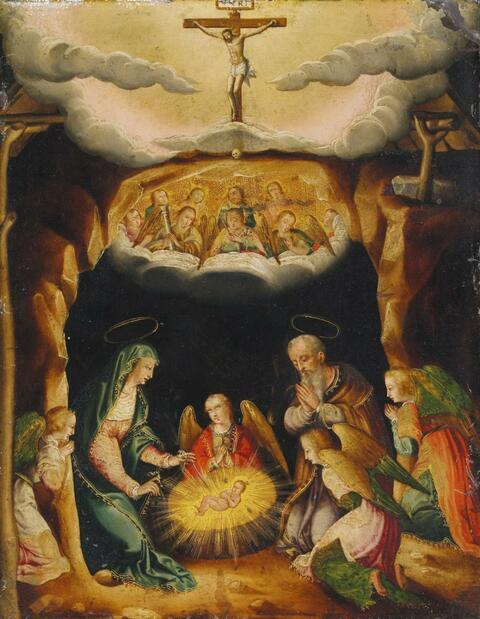 Spanish School, 17th century - NATIVITY
