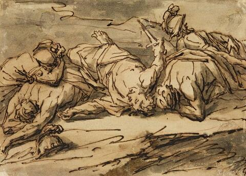Pieter Rysbraeck - WOUNDED SOLDIER