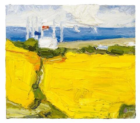 Klaus Fußmann - Untitled (Landscape near Gelting)