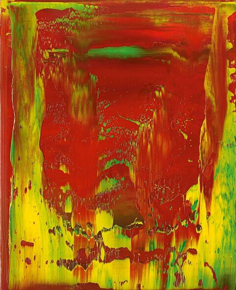 Gerhard Richter - War Cut II