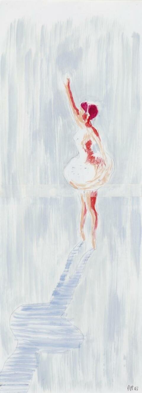 Daniel Richter - Untitled (farewell)