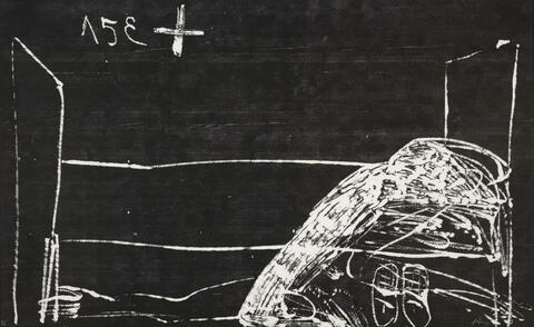 Antoni Tàpies - From: Suite Erker