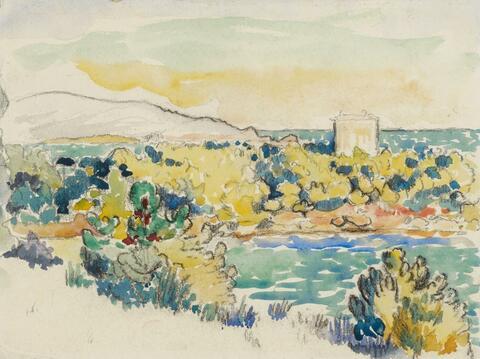 Henri Edmond Cross - Südliche Landschaft (Southern Landscape)