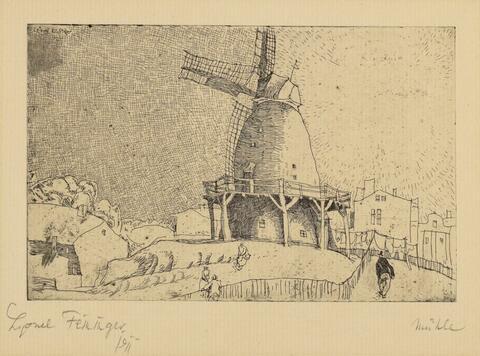 Lyonel Feininger - Alte Windmühle