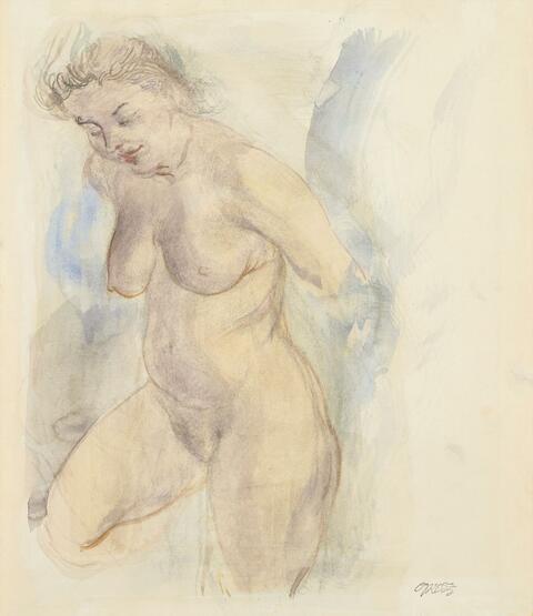 George Grosz - Weiblicher Akt
