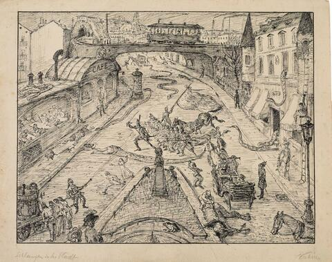 Alfred Kubin - Schlangen in der Stadt (Snakes in the City)