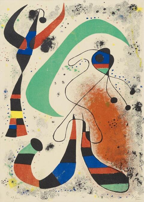 Joan Miró - La nuit