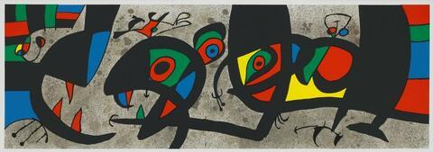 Joan Miró - Le Lézard aux Plumes d'Or