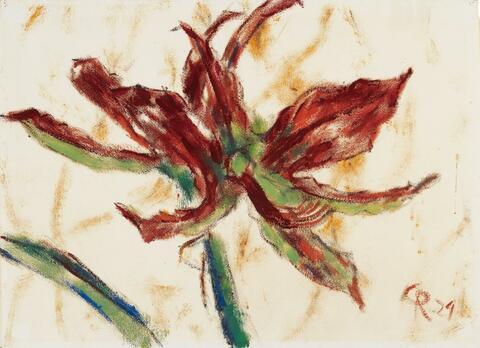 Christian Rohlfs - Amaryllisblüte (Amaryllis Blossom)