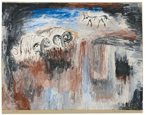Paul Klee - Bewachte Tiere, 1930, 60 (O 10)