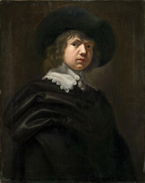 Gerbrand van den Eeckhout - PORTRAIT OF A YOUNG MAN WITH HAT
