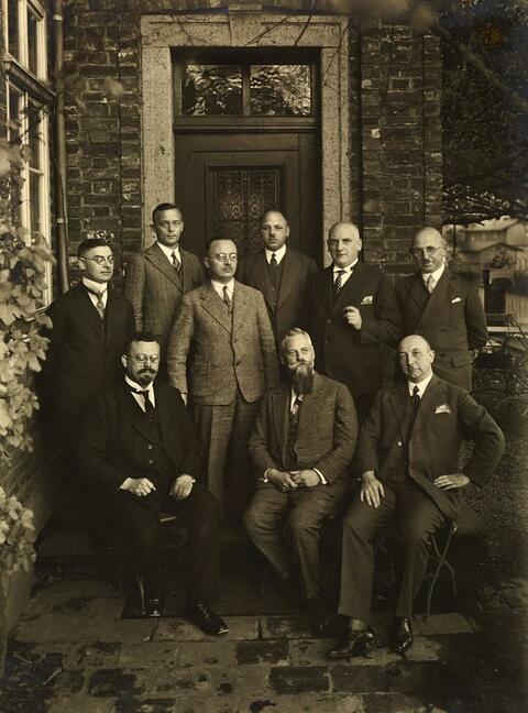 August Sander - GROUP OF MAYORS
