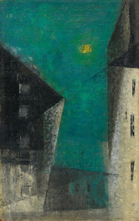 Lyonel Feininger - Ohne Titel (Pulu's Easter Egg 1952)
