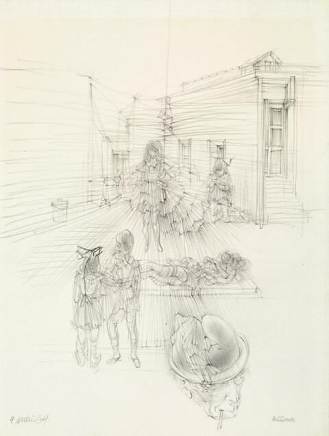 Hans Bellmer - Bühnenszene