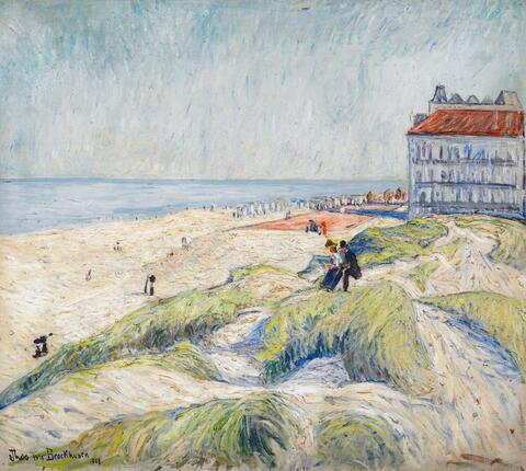 Theo von Brockhusen - Strand in Knokke