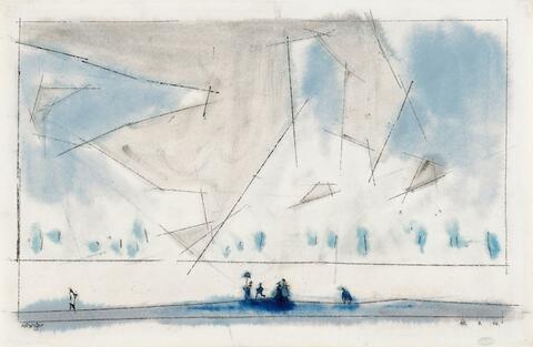 Lyonel Feininger - Luminous Clouds