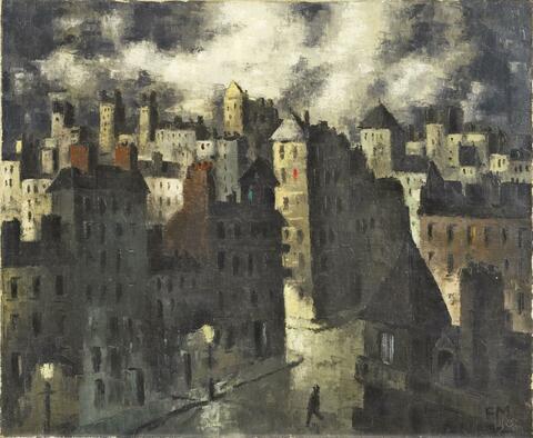 Frans Masereel - Les Toits pointus