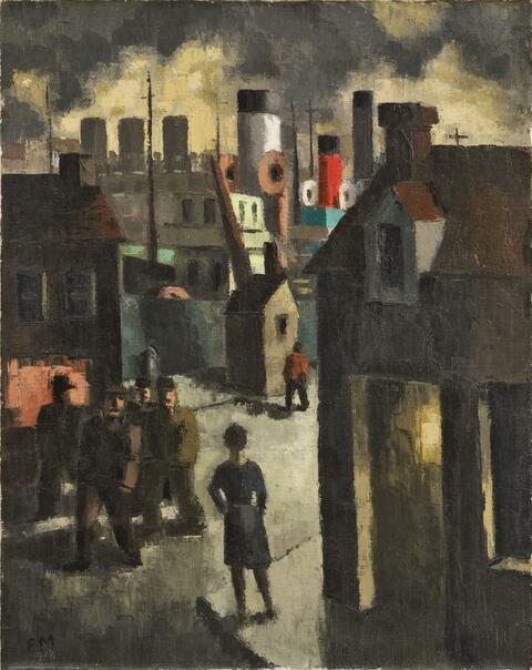 Frans Masereel - Port