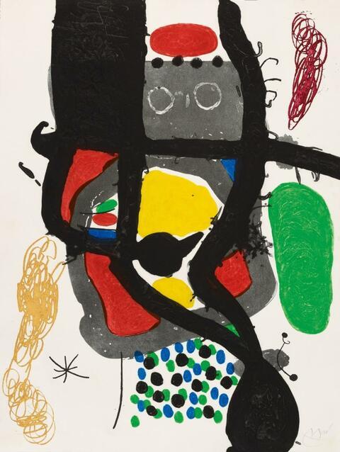 Joan Miró - Le Caissier