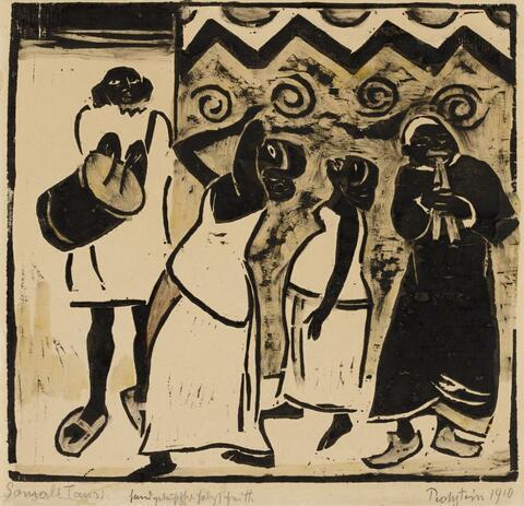 Hermann Max Pechstein - Somali Tanz (Somali Dance)