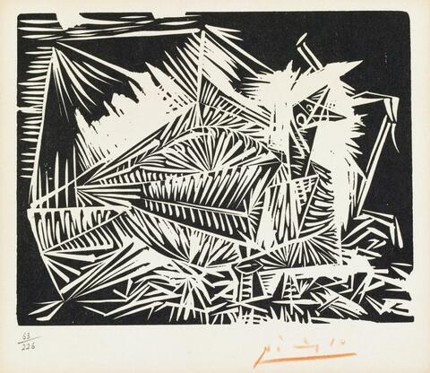 Pablo Picasso - Pigeonneau