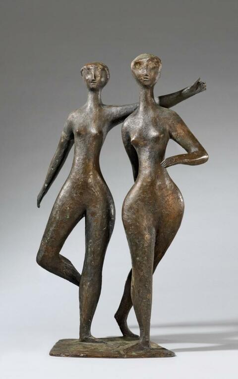 Erich Fritz Reuter - Tänzerinnen (Dancers)
