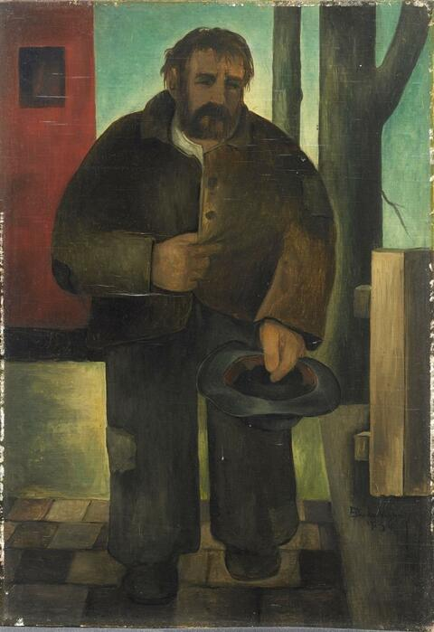 Eberhard Viegener - Stehender Bettler