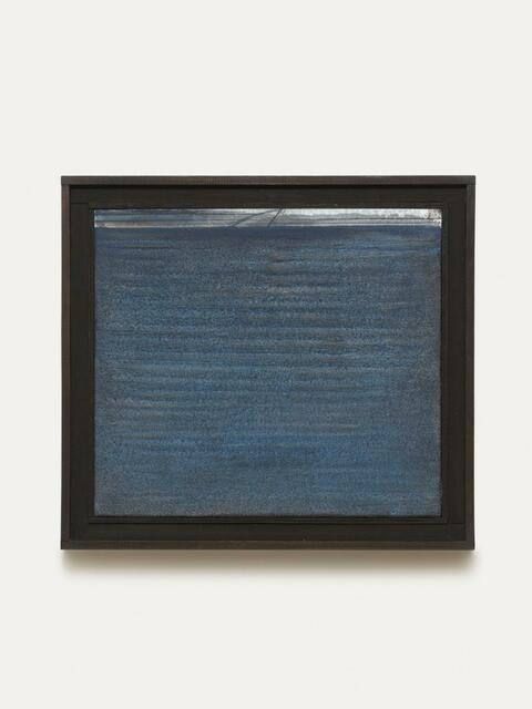 Karl Fred Dahmen - Horizontal - Tintenblau