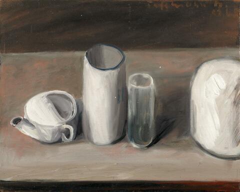Klaus Fußmann - Untitled (Still life)