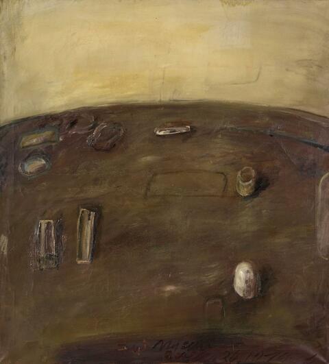 Klaus Fußmann - Intérieur - 26. 10. 76