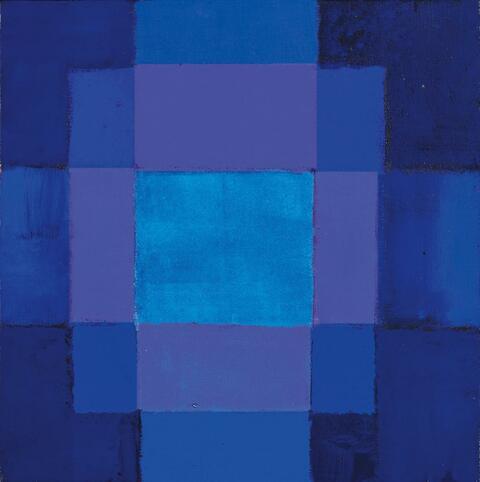Heinz Mack - Licht im Quadrat, Chromatische Konstellation